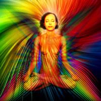 Cromoterapia - Modelo: Rilda - Arte Digital: Henrique Vieira Filho